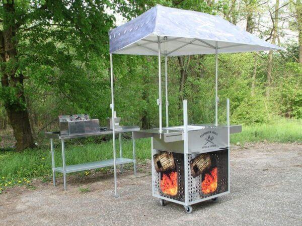 Mobile Grillstation mieten